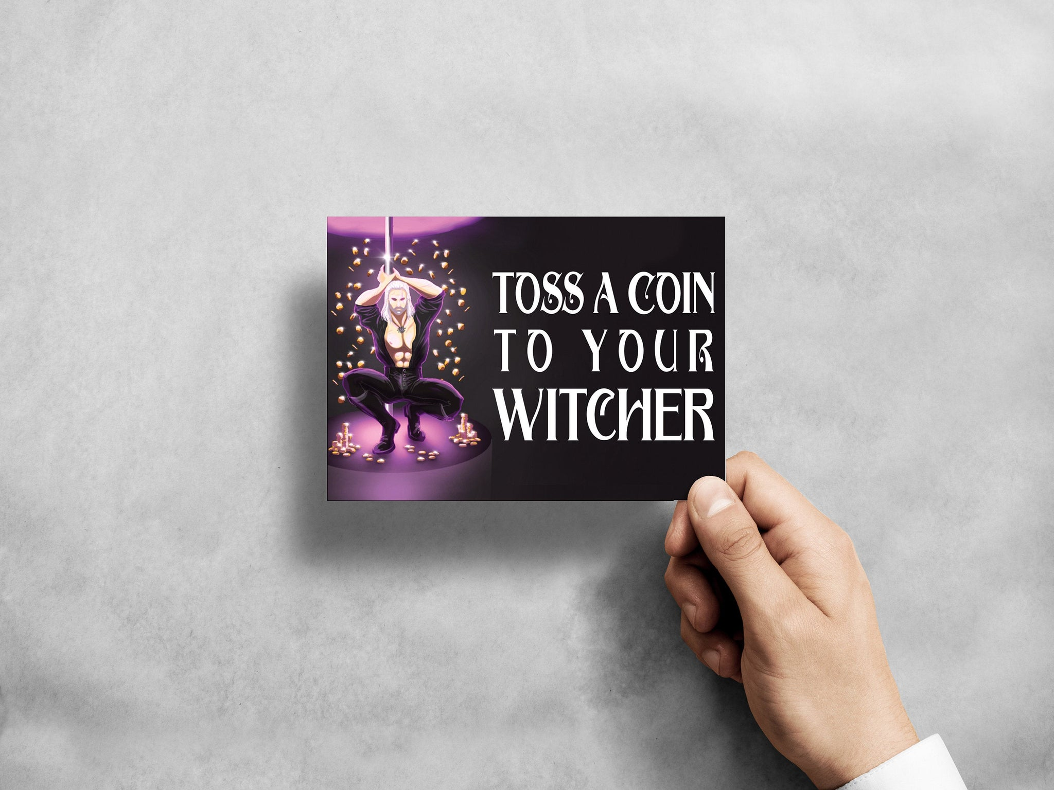 Toss A Coin to Your Witcher 5x7 Prints (3 Options)