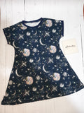 26 - star and moon fabric