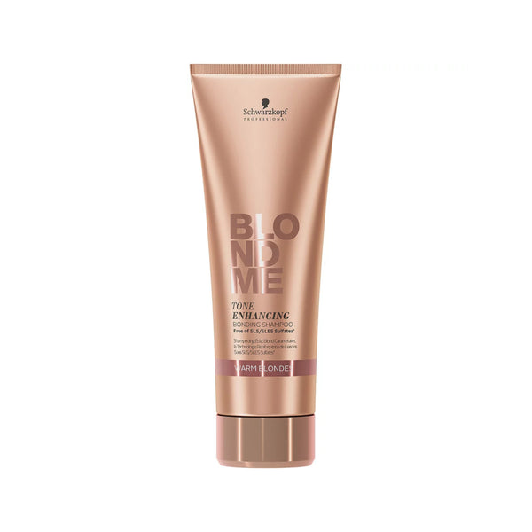 BLONDME Tone Enhancing Bonding Shampoo - Warm Blondes