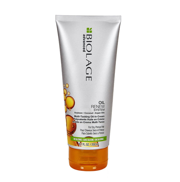 Biolage Advanced Oil Renew Multi-Tasking Oil-In-Cream Leave-In Treatment