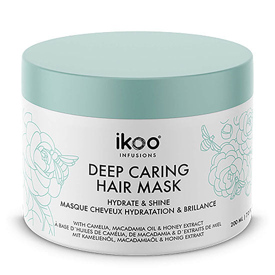 ikoo hydrate and shine deep caring mask 200ml