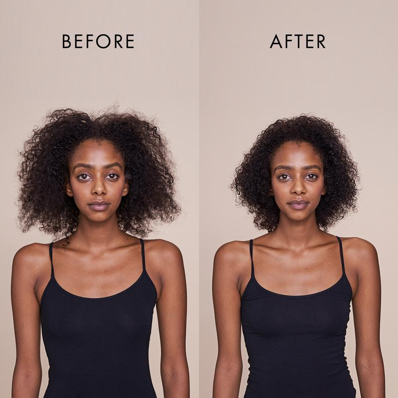 IKOO HAIR WRAP BEFORE AND AFTER