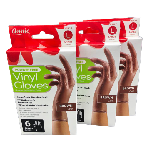 VINYL GLOVES (6 COUNT)