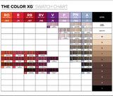 COLOR HAIR CHART GUIDE