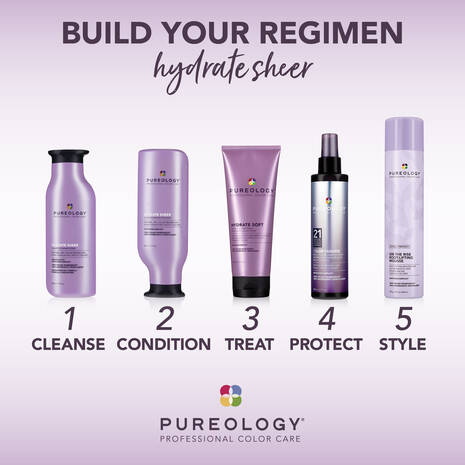 PUREOLOGY HYDRATE SHEER COLLECTION