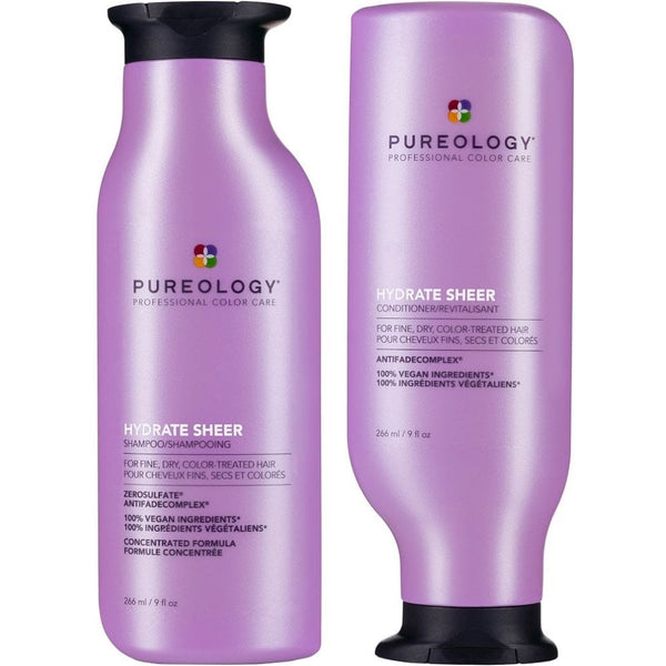 PUREOLOGY HYDRATE SHEER FOR FINE HAIR 266ML SET