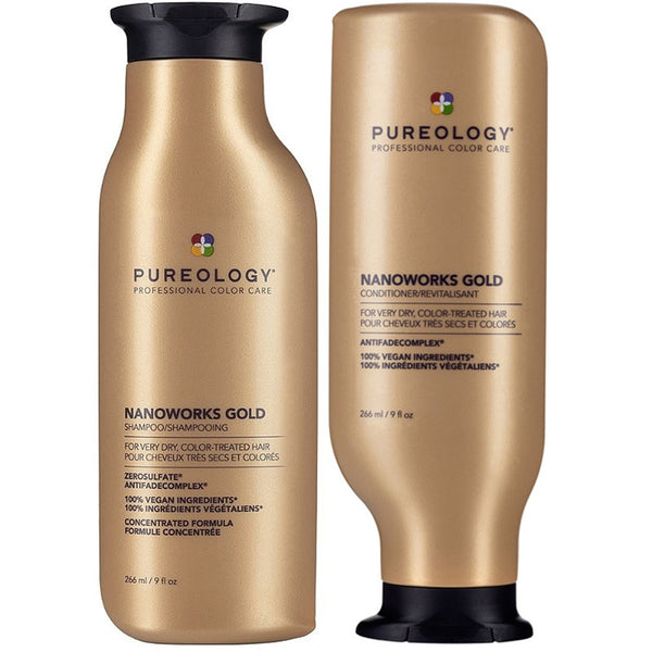 Pureology Nanoworks Gold Set 266ml