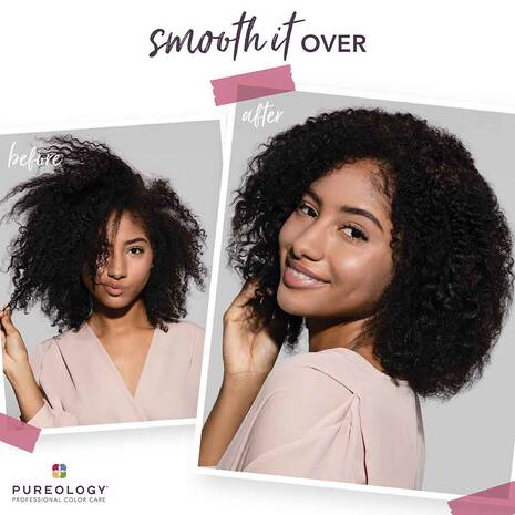 Pureology Smooth Perfection Before and After