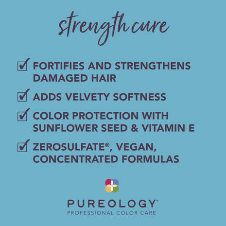Pureology Strength Cure Benefits