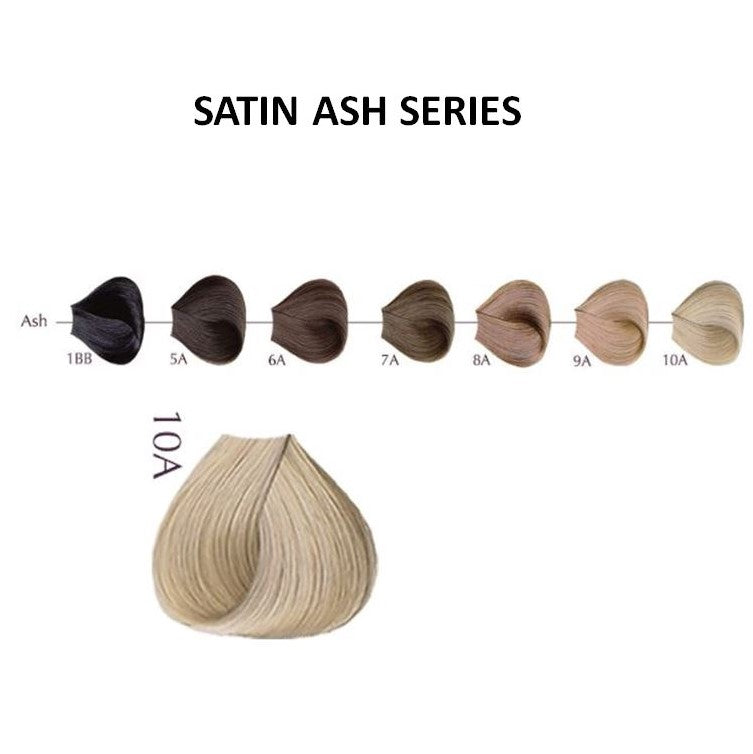 SATIN COLOR ASH