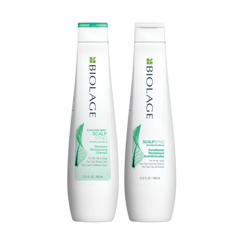 Biolage Scalpsync Cooling Mint Shampoo and Conditioner