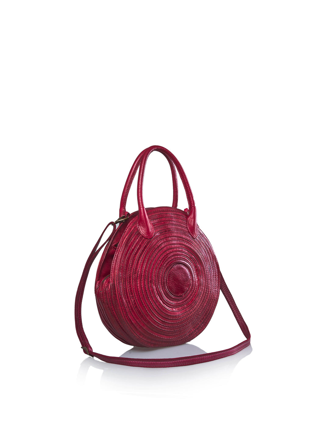 Bohk 465, shoulder bag - pelle di vitello, fodera in cotone, due tasche interne e chiusura con zip - vista laterale