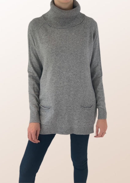 Anna Classic Roll Neck Jumper