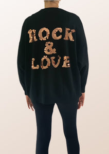 Rock & Love Sequin Jumper
