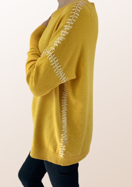 Andrea Blanket Stitch Jumper