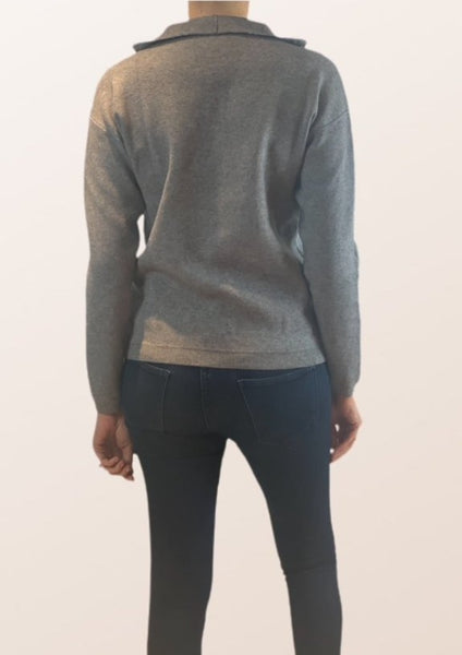 Rome Zip Neck Jumper