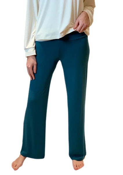 Hallie Bamboo Palazzo Trousers