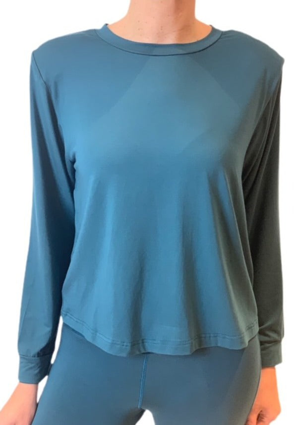 Halo Bamboo Padded Shouler Top