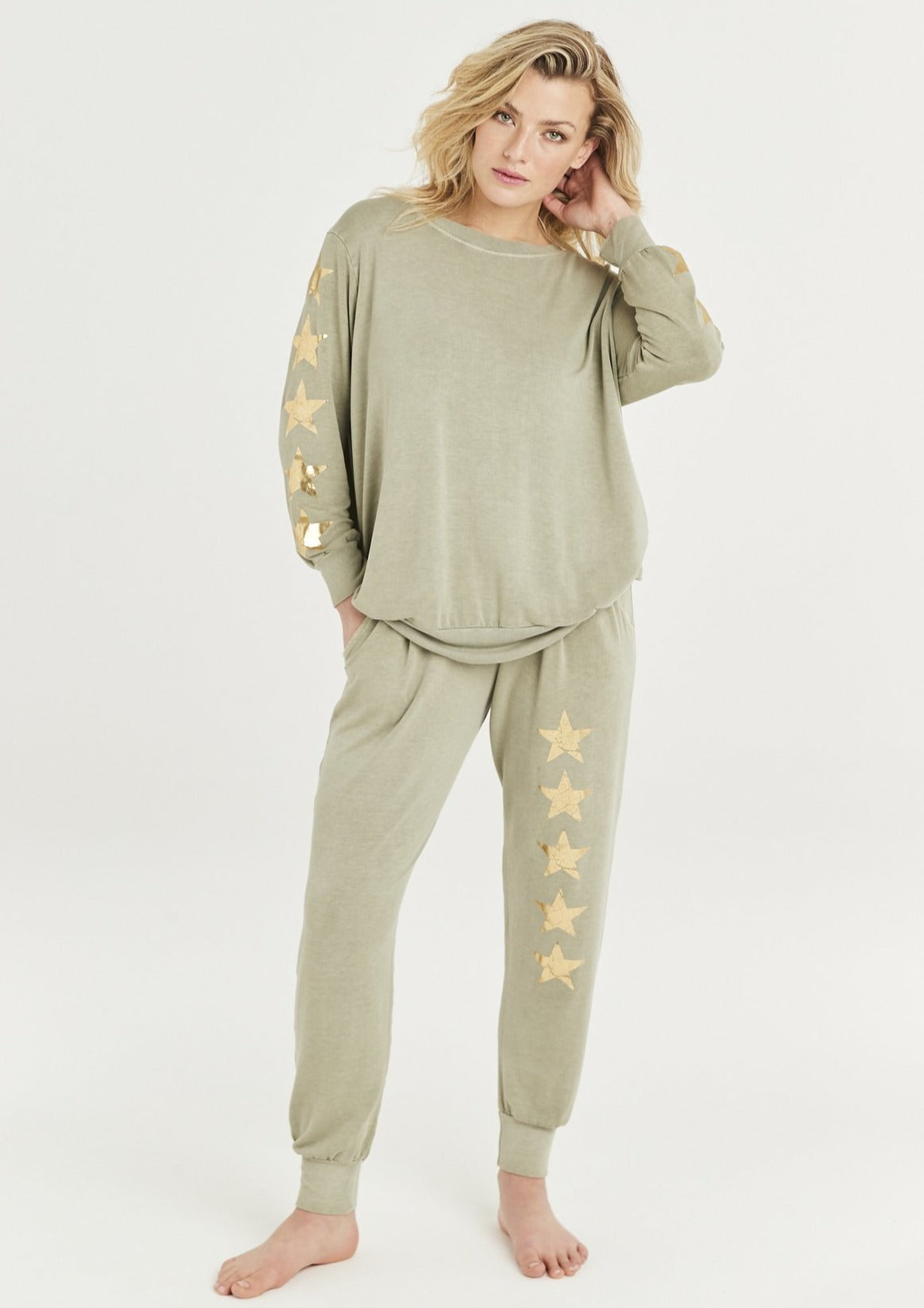 Gold Five Star Sweat