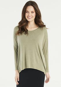 Karma Curved Hem Top