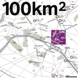 100km2 city map