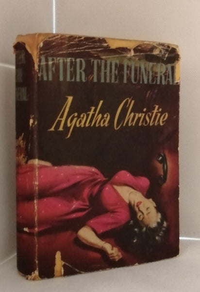 After the Funeral by Agatha Christie [First Book Club Edition 1954]