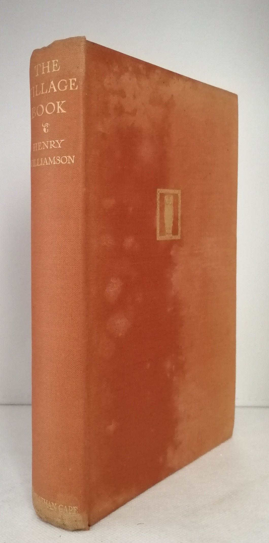 The Village Book by Henry Williamson FIRST EDITION, SECOND IMPRESSION