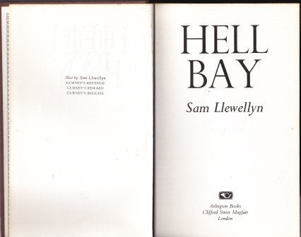 Hell Bay by Sam Llewellyn FIRST EDITION - The Real Book Shop