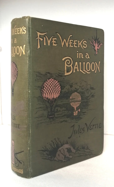 Five Weeks in a Balloon by Jules Verne [Antiquarian]
