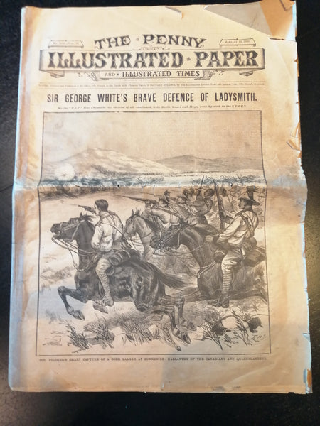 The Penny Illustrated Paper and Illustrated Times: Sir George White's Brave Defence of Ladysmith vol 78, no. 2016