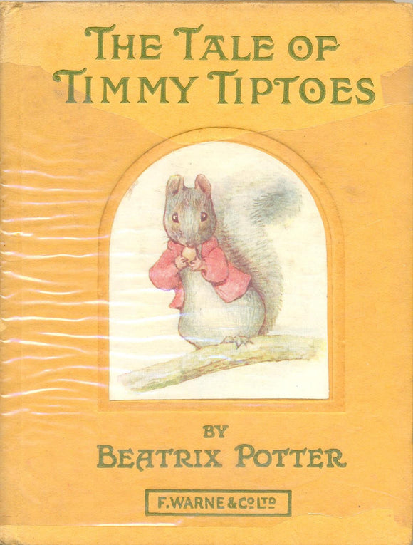 The Tale of Timmy Tiptoes by Beatrix Potter ANTIQUARIAN