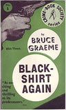Blackshirt Again by Bruce Graeme