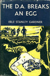 The D.A. Breaks An Egg by Erle Stanley Gardner [used-acceptable] - The Real Book Shop