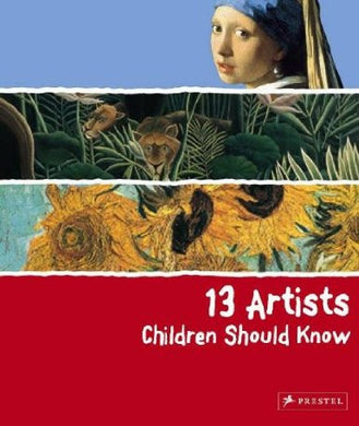 13 Artists Children Should Know by Angela Wenzel - The Real Book Shop