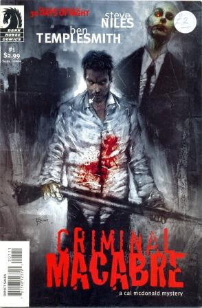 Criminal Macabre - a Cal McDonald Mystery by Steve Niles and Ben Templesmith No. 1 [Comic] - The Real Book Shop