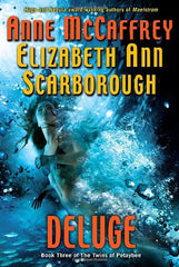 Deluge by Anne McCaffrey and Elizabeth Ann Scarborough FIRST EDITION - The Real Book Shop
