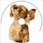 'Dog' Relaxing Music CD with Greeting Card