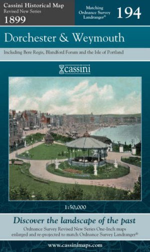 Dorchester and Weymouth (Cassini Revised New Series Historical Map) [Facsimile, Folded Map] - The Real Book Shop