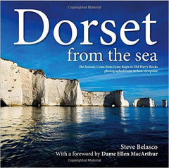 Dorset from The Sea (small) by Steve Belasco - The Real Book Shop