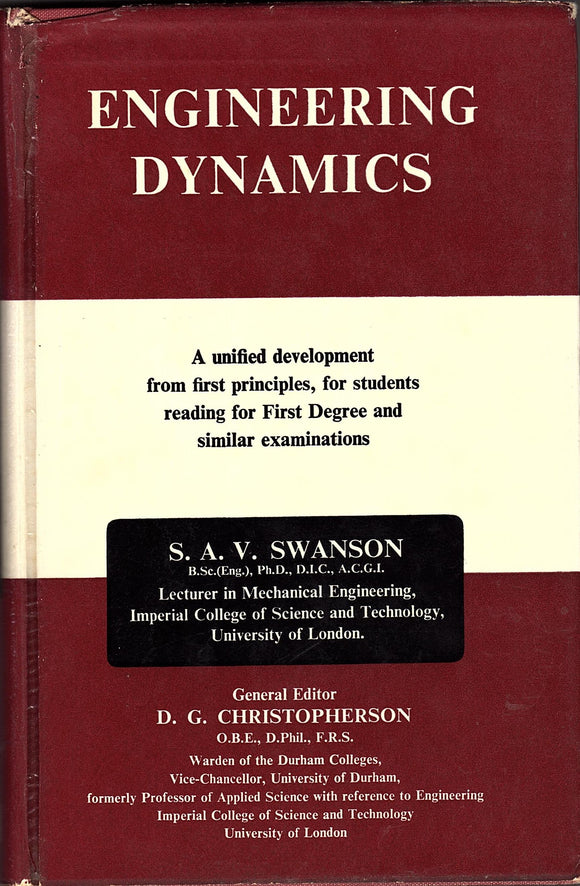 Engineering Dynamics by S. A. V. Swanson