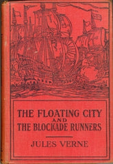 The Floating City and The Blockade Runners by Jules Verne [used-good] - The Real Book Shop