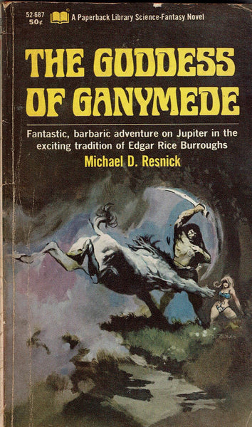 The Goddess of Ganymede by Michael D. Resnick