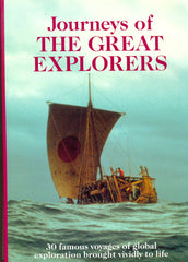Journeys of the Great Explorers by Rosemary Burton, Richard Cavendish , Bernard Stonehouse