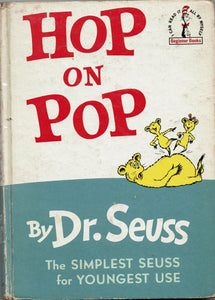 Hop on Pop by Dr. Seuss FIRST UK EDITION
