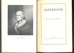 Jefferson by Saul K. Padover FIRST EDITION
