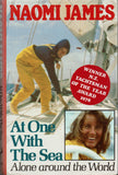 At One with the Sea: Alone Around the World by Naomi James SIGNED FIRST EDITION