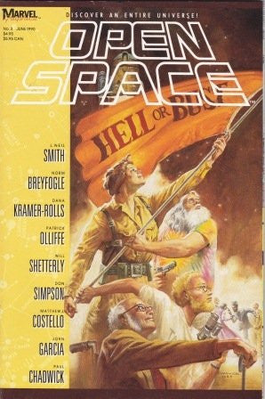 Open Space - Hell or Bust by Neil Smith et al [used-very good] - The Real Book Shop