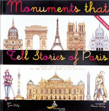 Monuments That Tell Stories of Paris by Jean Daly - The Real Book Shop