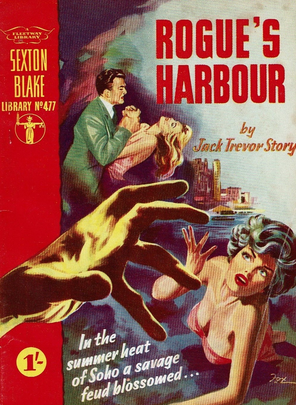 Rogue's Harbour by Jack Trevor Story [Sexton Blake library no. 477]