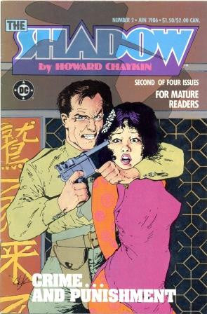 The Shadow - Crime and Punishment by Howard Chaykin [Comic] - The Real Book Shop
